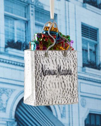 NM Shopping Bag Christmas Ornament