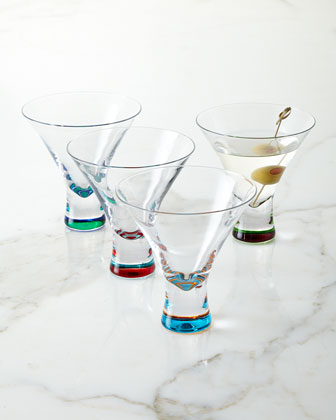 Martini Glasses, 4-Piece Set