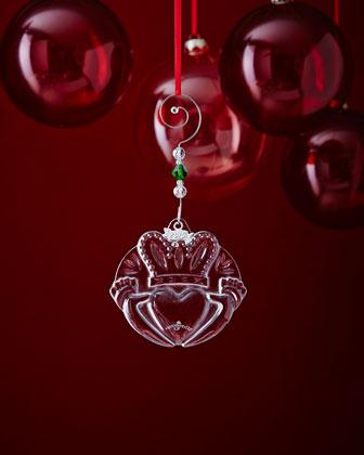 Shamrock & Claddagh Christmas Ornaments