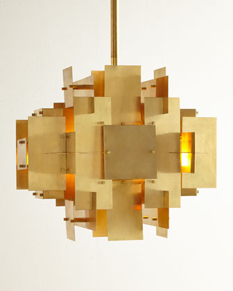 Puzzle Two-Light Pendant