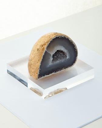 Geode Paperweight