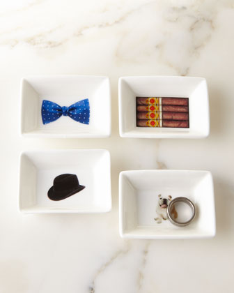 Winston Churchill Mini Trinket Tray Set