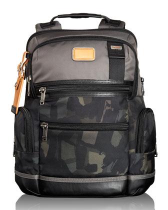Alpha Bravo Gray/Camo Knox Backpack