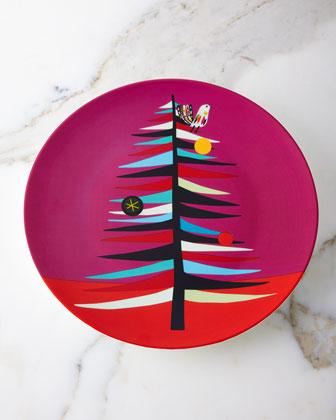 Tree Cookie Plate