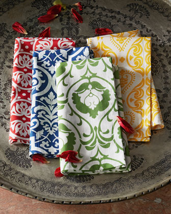 Assorted Print Napkins, 4-Piece Set