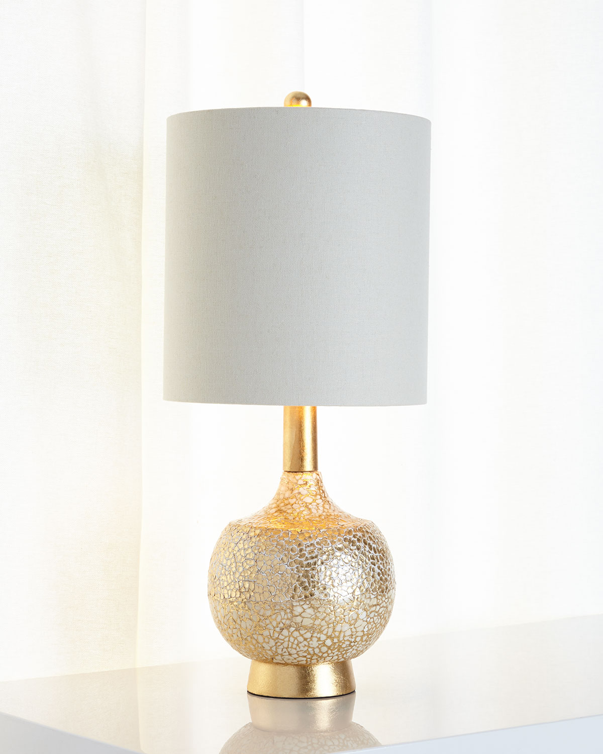 Atwater Lamp, Gold - Neiman Marcus