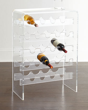 Allegra Acrylic Wine Rack