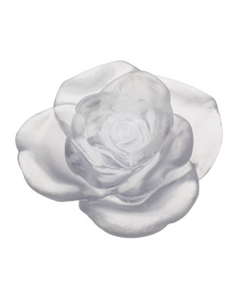 Rose Passion White Flower Sculpture