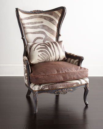 Bono Hairhide Wing Chair