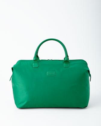 Green Nylon Luggage