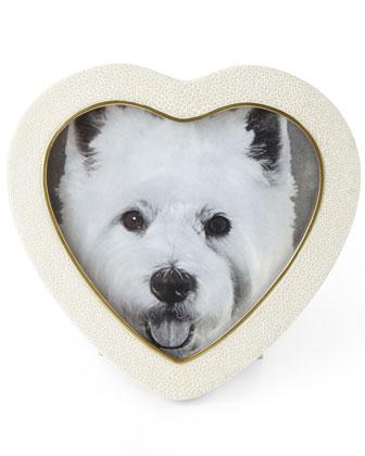 Shagreen Heart Frames