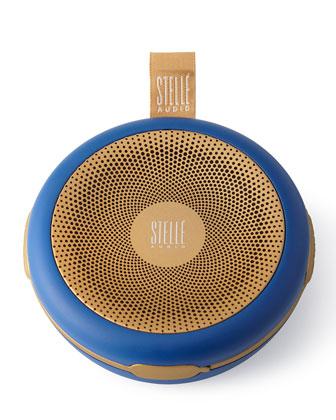 Navy Blue/Gold Go-Go Speaker