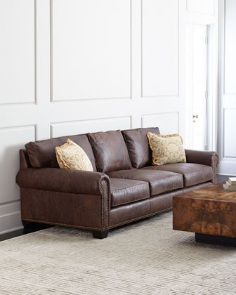Massey Leather Sofa