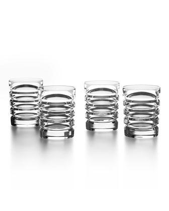 Metropolis Shot Glasses, Set of 4