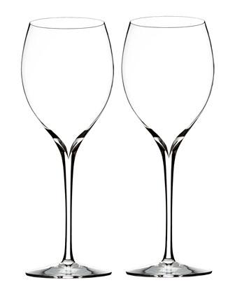 Elegance Chardonnay Wine Glasses, Set of 2