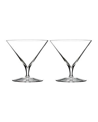 Elegance Martini Glasses, Set of 2