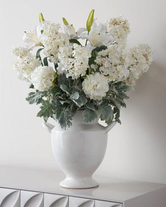 Dusty Dawn Hydrangeas Faux Floral