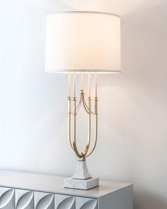 Candlestick Centerpiece Lamp
