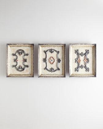 Velador Wall Plaques, 3-Piece Set