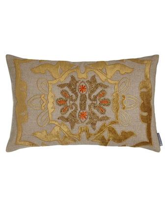 Ribbon Square Pillow