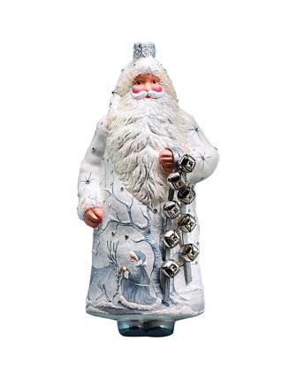 Sleigh Bells Ring Santa Christmas Ornament