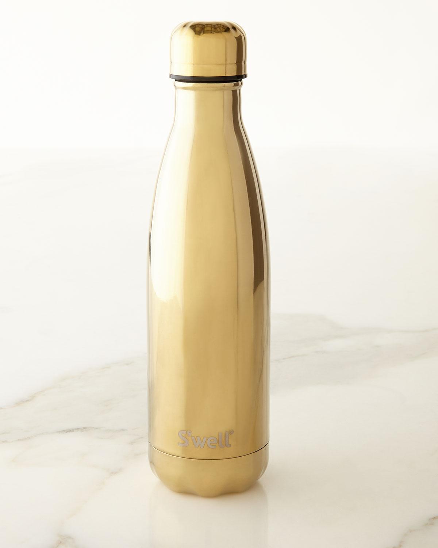 Yellow-Gold Metallic 17-oz. Reusable Bottle, Yellow Gold - S'well