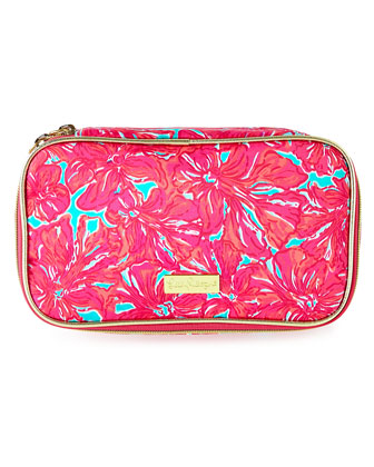 Cruising Floral-Print Cosmetic Case
