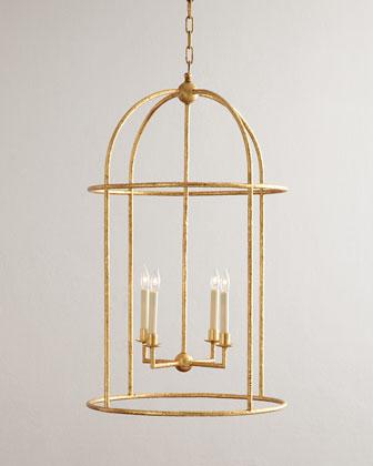 Desmond 4-Light Cage Lantern