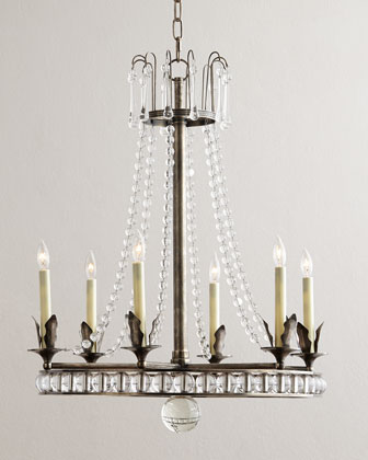 Regency-Style 6-Light Chandelier