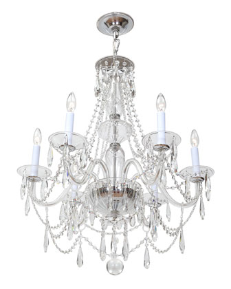 Crystal 6-Light Chandelier