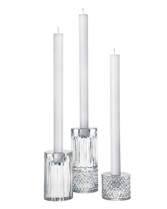 Tommy Contemporary Candlesticks, 3-Piece Set