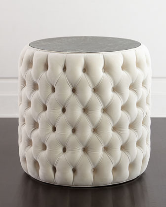 Connie Tufted End Table