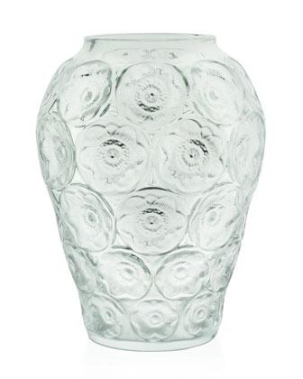 Clear Anemones Medium Vase