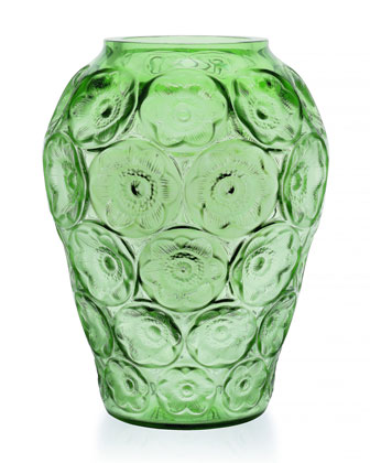 Green Anemones Medium Vase