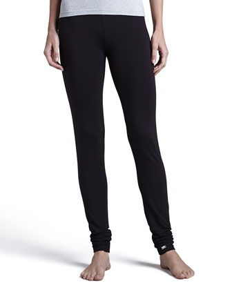 Tricot Leggings, Black