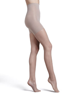Spanx Uptown Tight-End Tights, Micro Fishnet