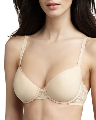 Never Say Never Comfy Contour Spacer Bra, Blush