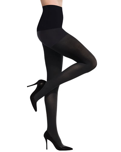 Commando Ultimate Opaque Control Tights, Black
