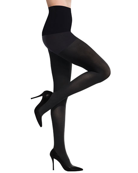 Ultimate Opaque Control Tights, Black