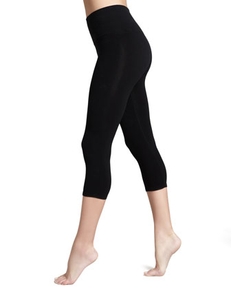 Look-at-Me Cotton Capri Leggings