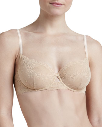 Trenta Underwire Bra & Low-Rise Lace Thong