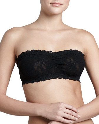 Signature Lace Soft Bandeau Bra