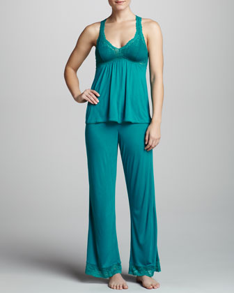Colette Lounge Pants, Jade