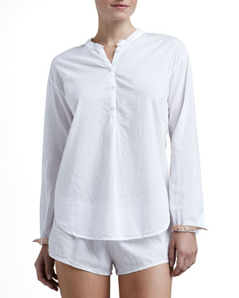 Hadley Poplin Sleep Shirt