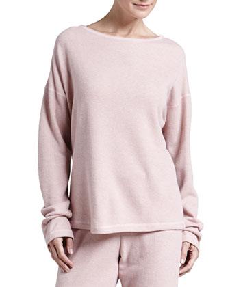 Ella Shimmer Fleece Top