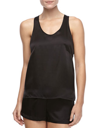 Studio Dolce Sleeveless Silk Tank