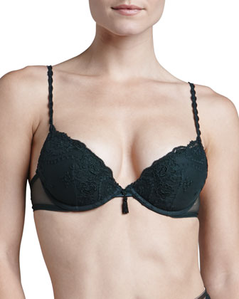 Ardientemente Push-Up Bra, Emerald