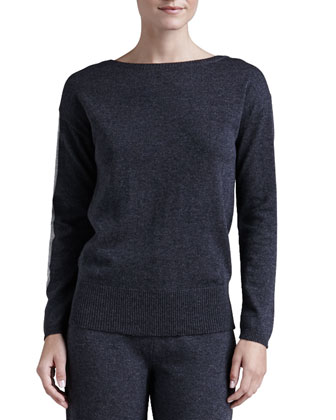 Lavinia Wool-Cashmere Top