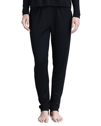 Emma Wool-Silk Lounge Pants