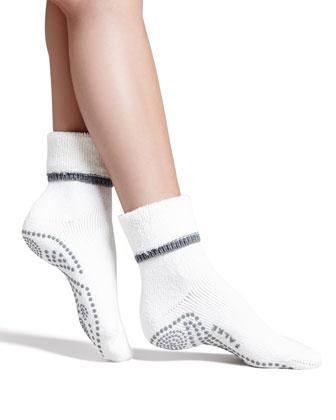 Cuddle Pad Socks, Ivory